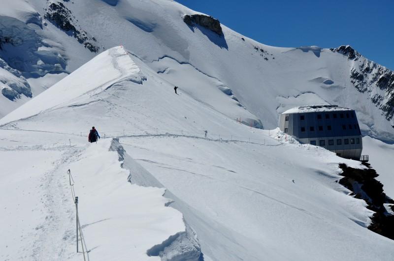 Chata Gouter 3800 m.n.m.