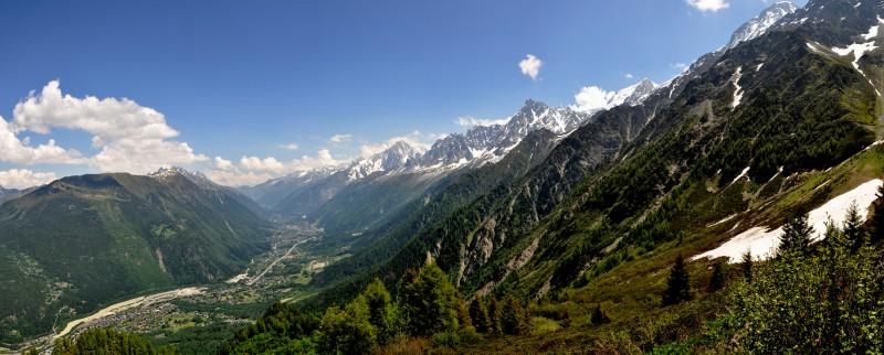 Údolí Chamonix