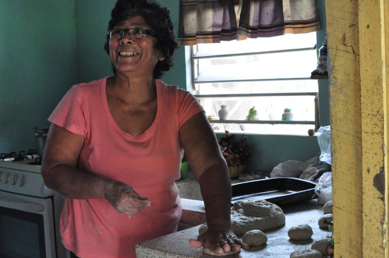 Delia připravuje bulky