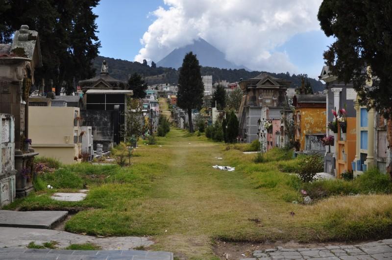 Hřbitov - Quetzaltenango