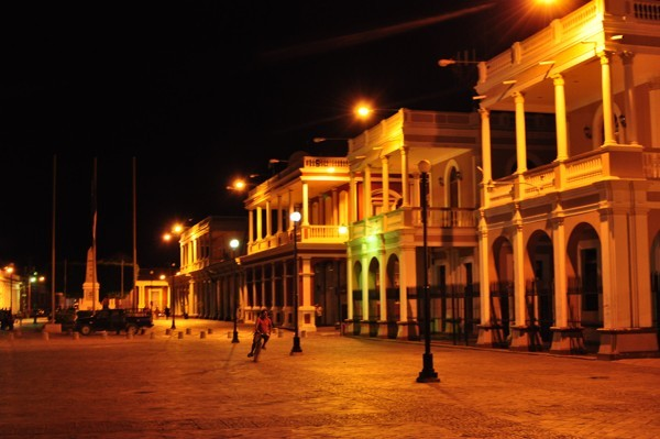 Granada v noci