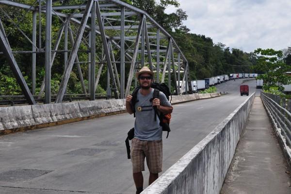 Na panamské straně hranic