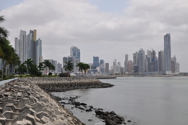 Modernější část Panama City