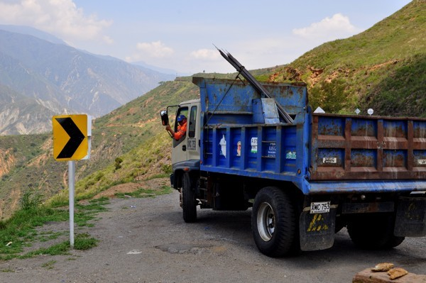 Přes hory do San Gilu