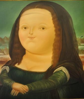 Mona Lisa od Botera