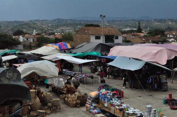Villa de Leyva - market