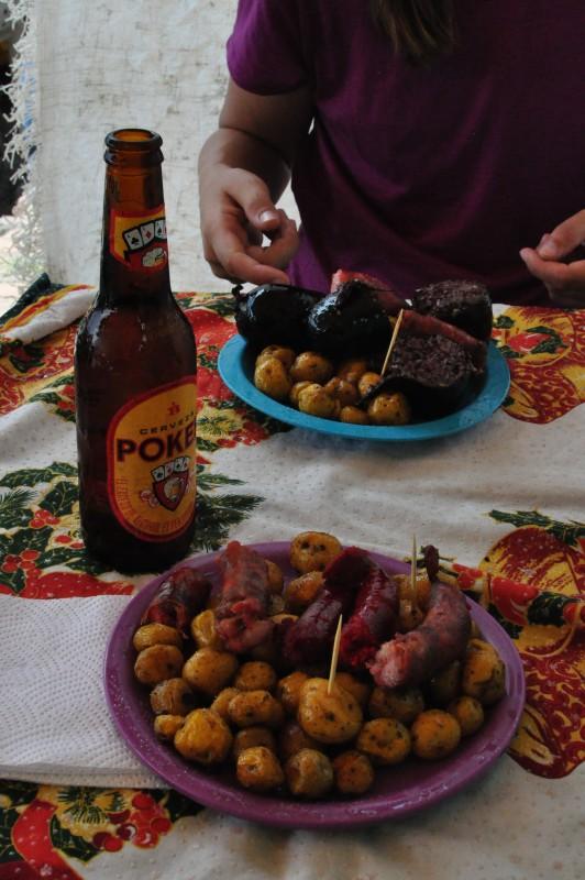 Chorizo s bramborem