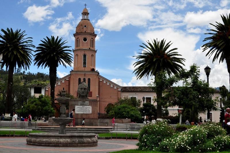 Náměstí v Otavalu
