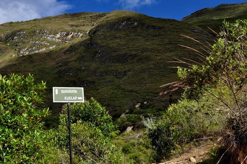 Cesta z Kuélapu