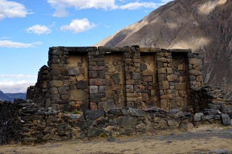 Ollantaytambo - ruiny