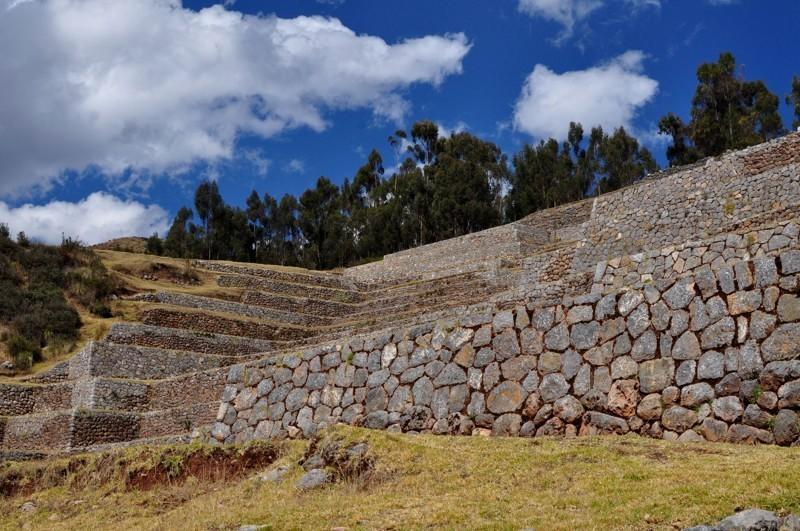 Chinchero - ruiny