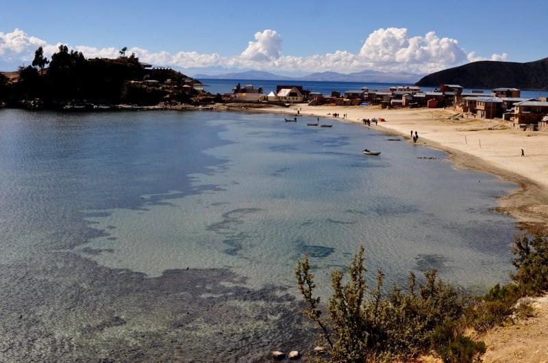 Isla del Sol - severní část
