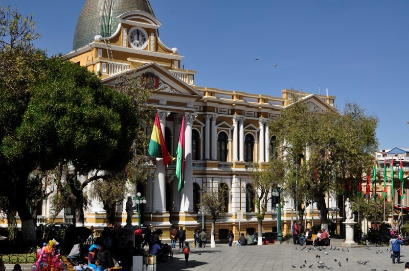Plaza Murillo - La Paz