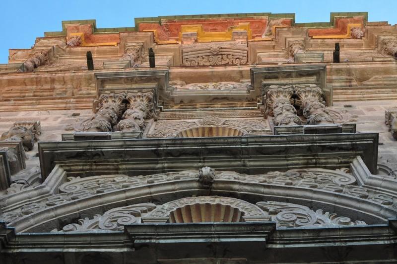 Potosí - vstup do Casa de la Moneda