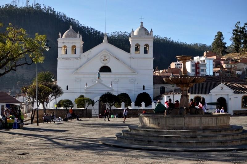 Sucre - náměstí Pedro de Anzúrez