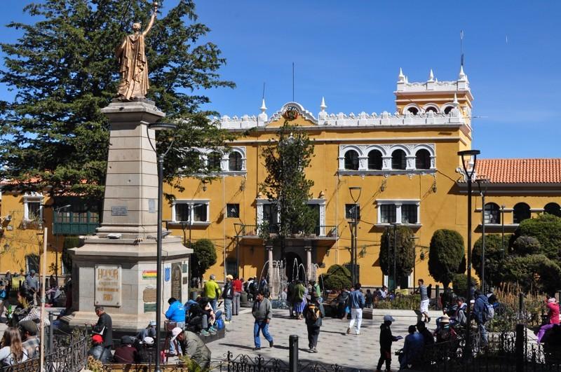 Potosí - hlavní náměstí