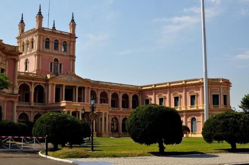 Presidentský palác, Asuncion