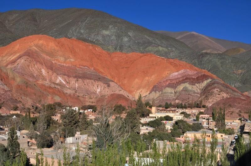 Purmamarca a duhové hory