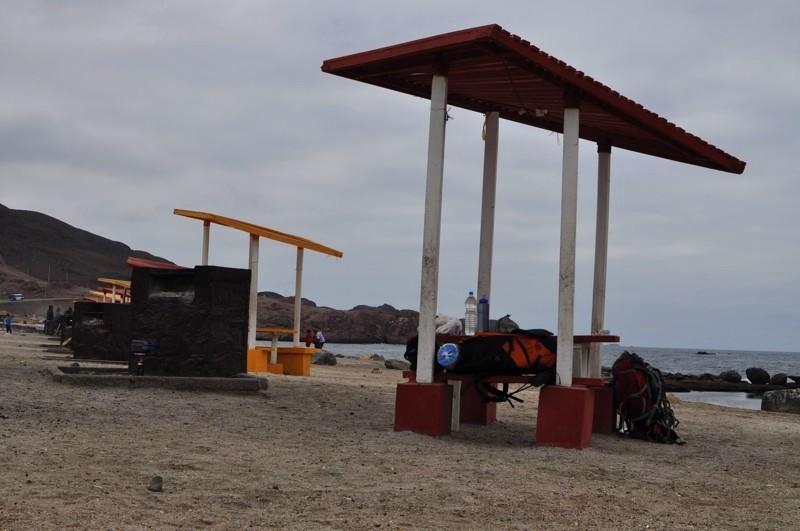 Na pláži v Taltalu