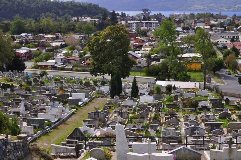 Hřbitov nad Pucónem