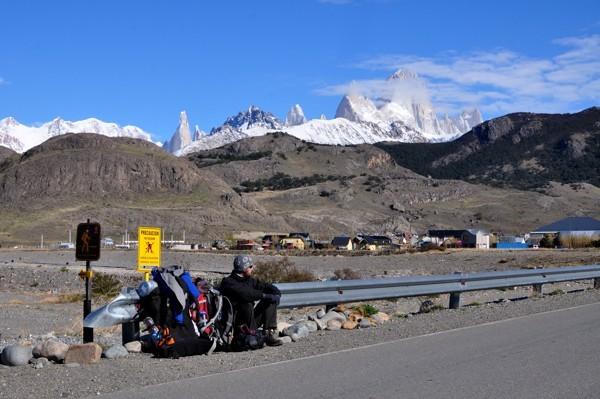 Na stopu v El Chalténu