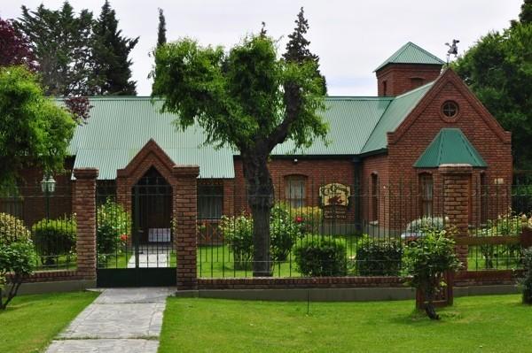 Typický velšský dům v Gaimanu