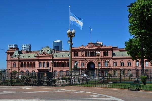 Prezidentský palác Buenos Aires