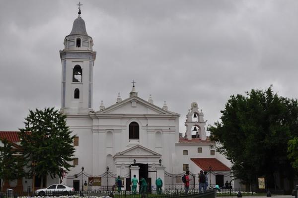 Kostel u hřbitova Recoleta