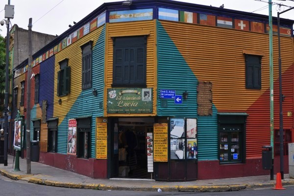 Čtvrť Boca