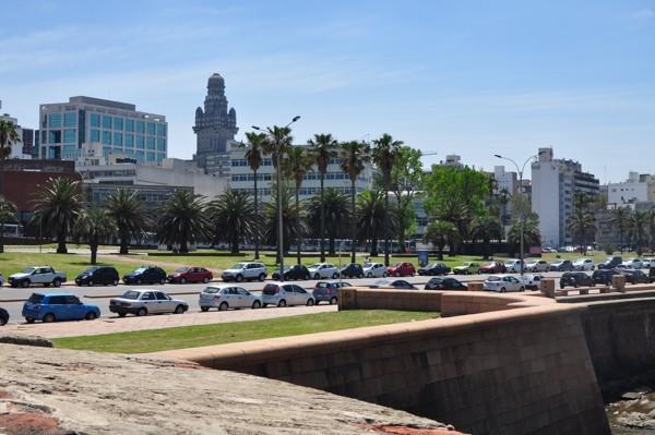 Zbytky opevnění v Montevideu