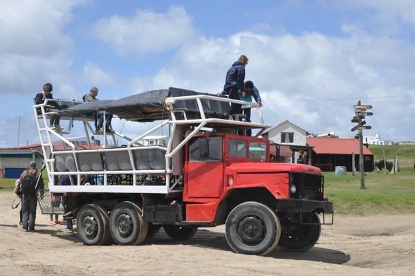 Náklaďákem do NP Cabo Polonio