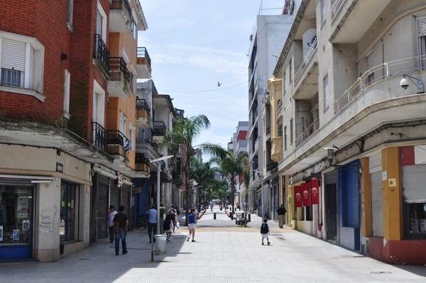 Pěší zóna - Montevideo