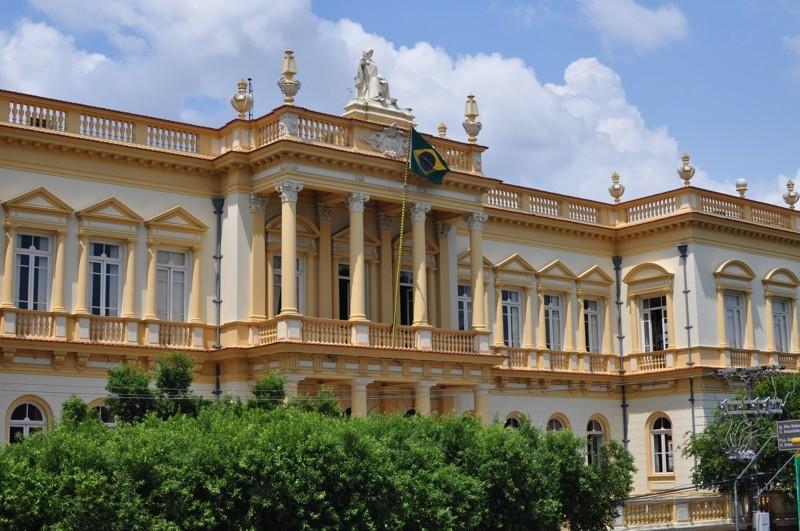 Soudní budova v Manaus