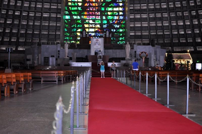 Catedral Metropolitana - interiér