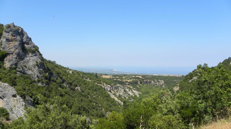 Pohled na moře z N.P.