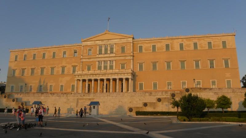 Parlament, náměstí Syntagma