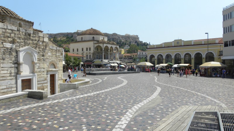 Prohlídka Atén